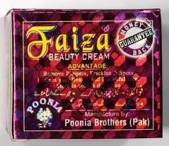 Faiza Beauty Cream was found to contain Mercury